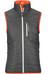 Ortovox M's Swisswool Light Piz Cartas Vest Black Steel
